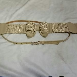 *NWOT* Set of 2 belts (#215)